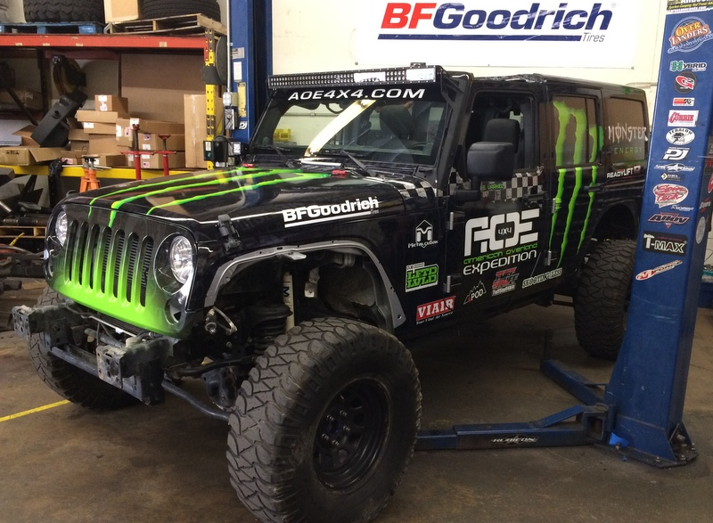 American Overland Expedition 4x4 Installs New Readylift