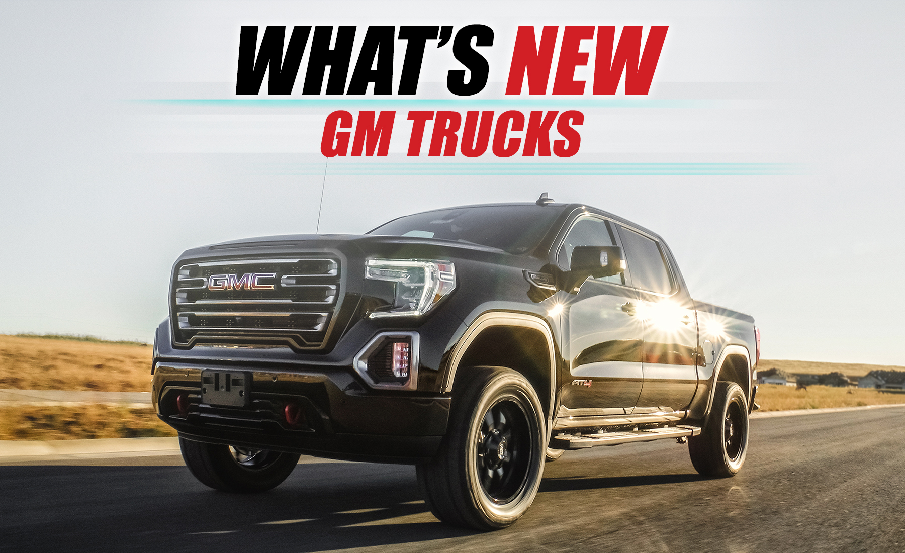 All New 2019 Gm 1500 At4 Trail Boss Leveling Sst Lift Kits Readylift