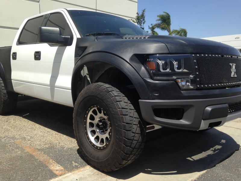 2010 ford f150 raptor grille conversion