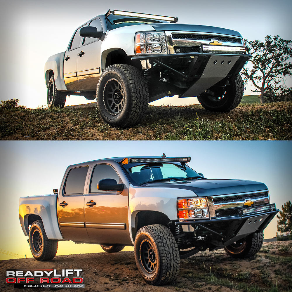 ReadyLIFT Off-Road Suspension Lift Kit, Bumper and Bedcage on Magnuson Supercharger Chevy Silverado 1500
