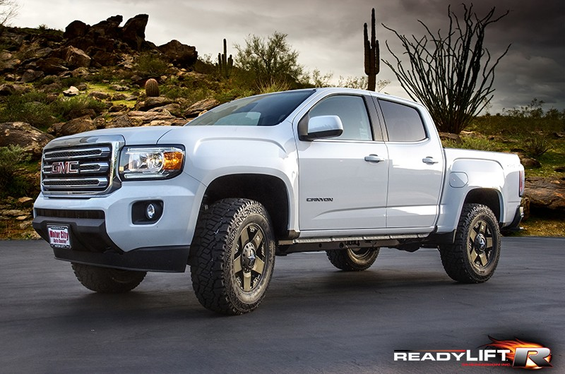 readylift 2 inch leveling kits for 2015 colorado canyon. Black Bedroom Furniture Sets. Home Design Ideas