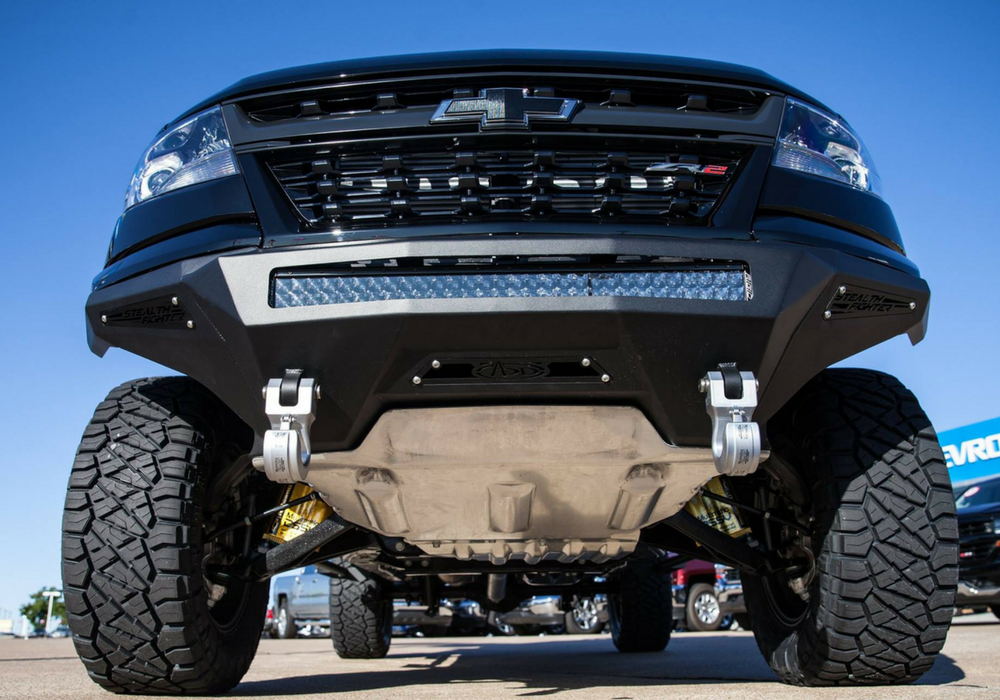 Lifted Chevy Colorado >> Lift of the Month: SEMA Colorado ZR2 | ReadyLIFT