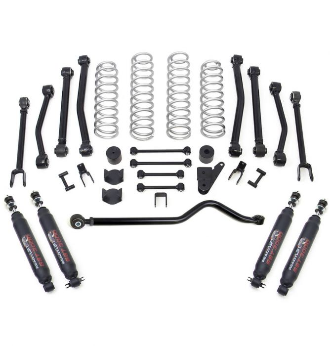4'' TERRAIN FLEX 8-ARM LIFT KIT WITH SST3000 SHOCKS - JEEP JK WRANGLER 4WD 2007-2018
