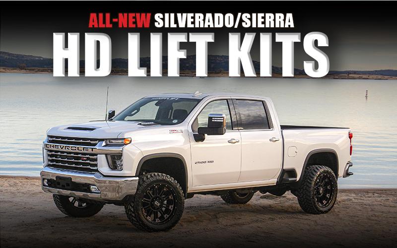 2020 silverado sierra leveling kit