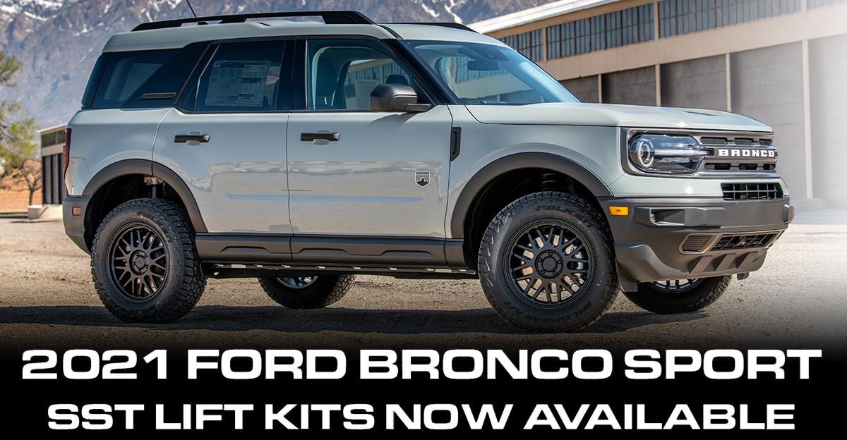 2021 Ford Bronco Sport SST Lift Kit