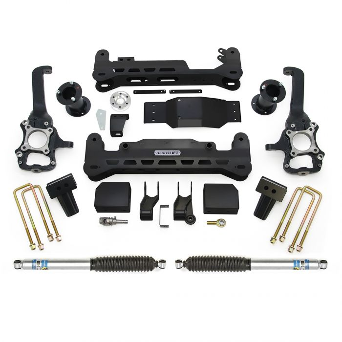 Rockyin 2,5-Zoll-Vorder Nivellierelementen Lift Kit for Ford F150 2004-2019