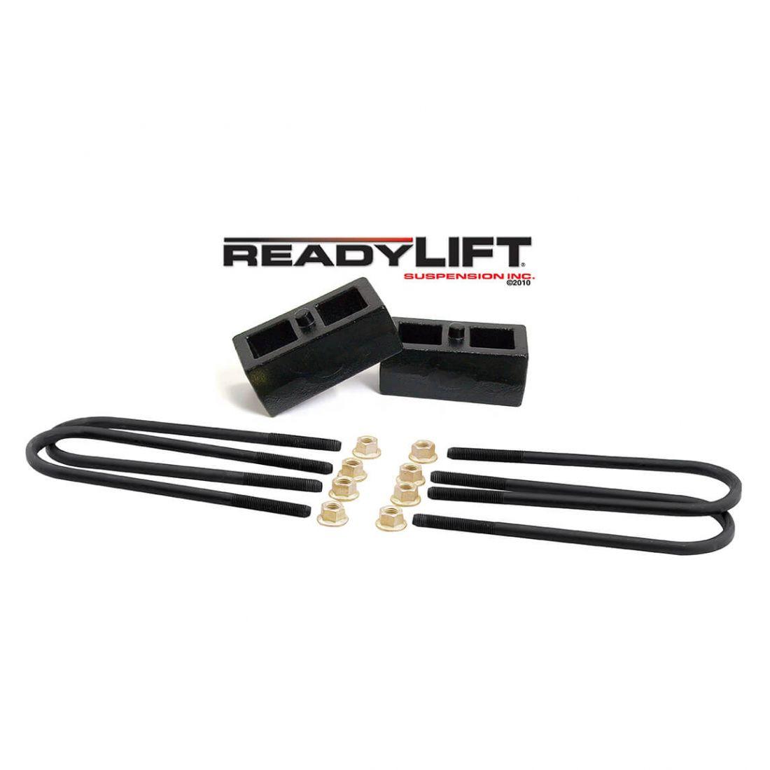 "Lift Kit Chevy Black Torsion Keys 2/"" Cast Steel Blocks 1988-98 6 Lug Trucks SUV"
