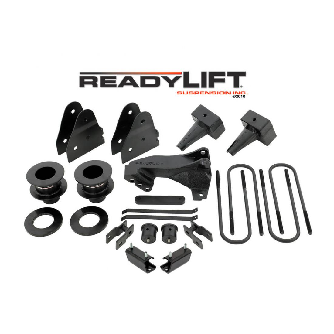 2 Piece Drive Shaft For F250//F350 Ford ReadyLift 69-2519 2.5 SST Lift Kit With 4 Rear Blocks