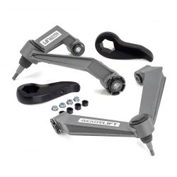 Chevy silverado GMC Sierra Denali 2500HD 3500 HD leveling kit with heavy-duty upper control arms