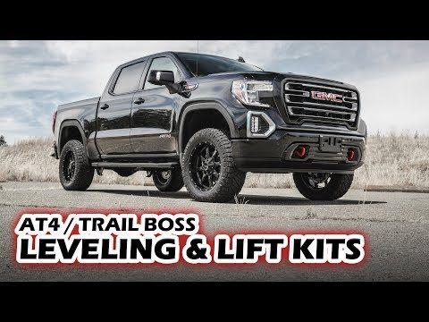 "2019 Chevy Silverado Trail Boss /& GMC Sierra AT4 1.75/"" Leveling Kit Zone Offroad"