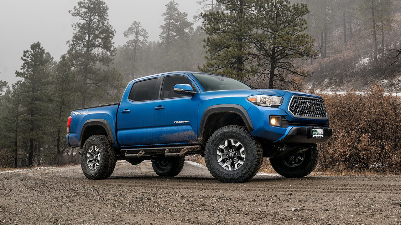 Toyota Tacoma Leveling Kit Before And After – Wonderful Image Gallery
