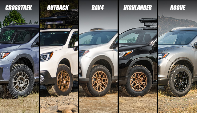 All New Crossover Lift Kits