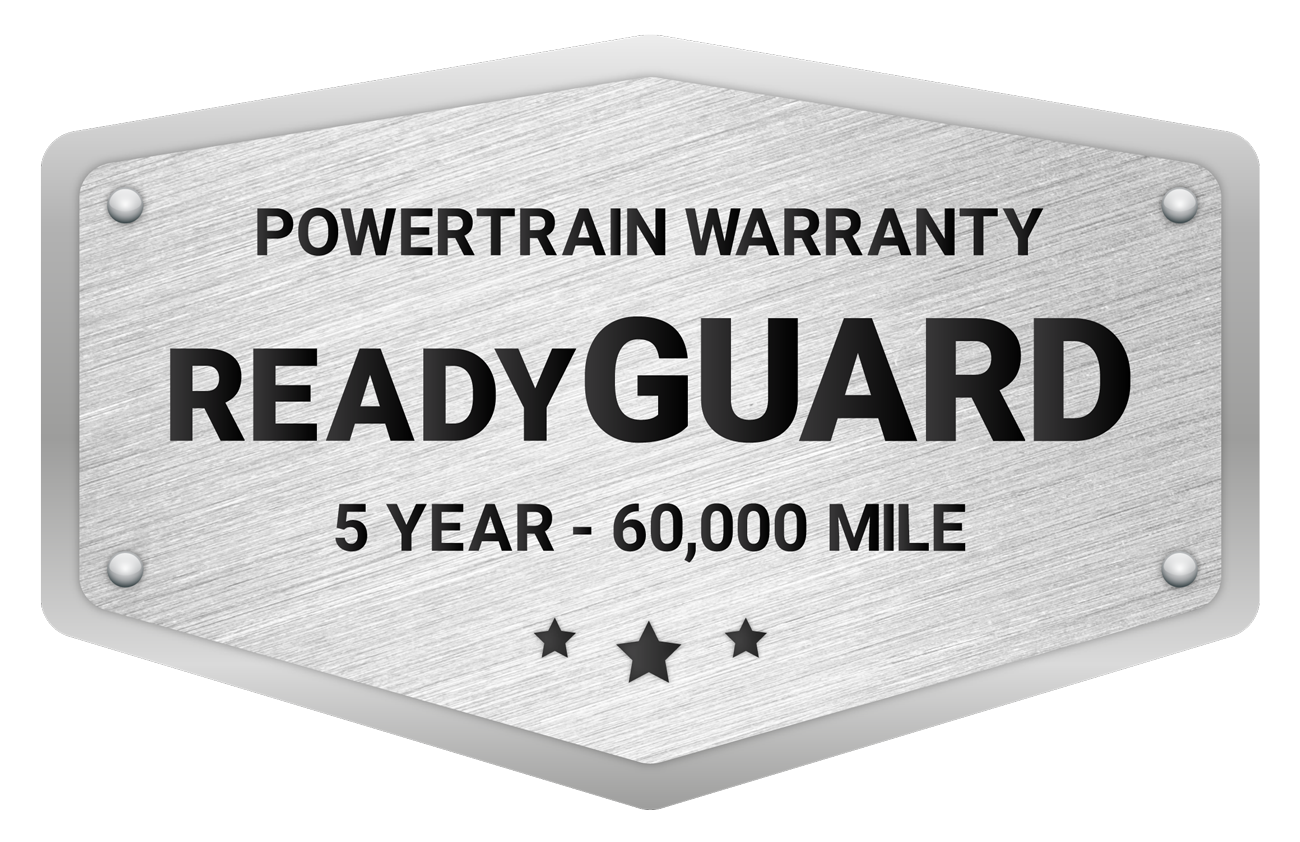 ReadyGUARD - 5 year/60,000 mile - Powertrain Warranty